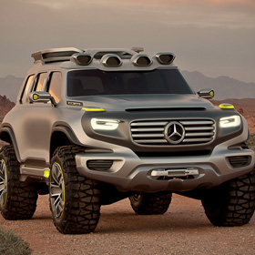 2025 G Wagon<span><br><span>If the Mercedes Benz G Wagon evolves into this beast, sign me up… as a second car of course.<br><a href='http://www.drpneu.com/mercedes-la-show-suv-concept-comes-to-life-says-it-previews-the-future-for-the-g-class' target='blank' style='text-decoration:underline;color:#ddd'><b>Read More</b></a></span></span>