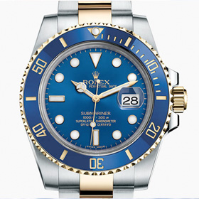 The Rolex Way: Submariner<span><br><span>'The way we spend our time defines who we are.' - Jonathan Estrin<br><a href='http://www.rolex.com/watches/submariner/m116613lb-0005.html#cfgvar=material' target='blank' style='text-decoration:underline;color:#ddd'><b>Read More</b></a></span></span>